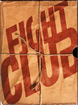 FIGHT CLUB The MOVIE on 2-Disc SPECIAL EDITION DVD with EDWARD NORTON Brad Pitt!