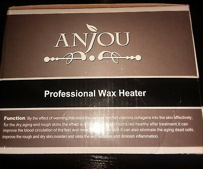 NEW In Open Box Anjou Professional Wax Heater Model- AJ-PCA010(450)
