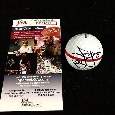 "Jim Furyk ""58"" Signed 2019 The Players Practice Round Used Golf Ball 3-13-19"