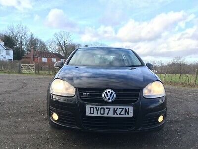 VW Golf 2.0L GT TDI 170 Very Low Mileage 2007 diesel Volkswagen 6 speed manual