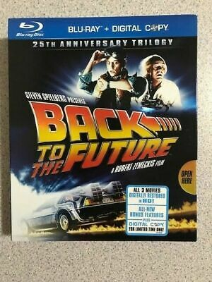 Back to the Future: 25th Anniversary Trilogy (Blu-ray, 3-Disc Set) - Pre-Owned