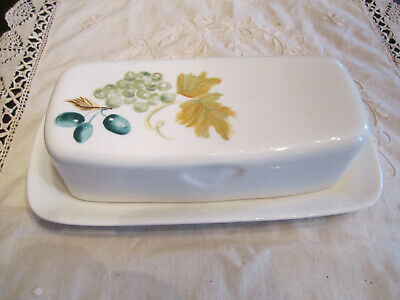 Vintage Iroquois China Butter Dish ~ Syracuse N.Y. 9.