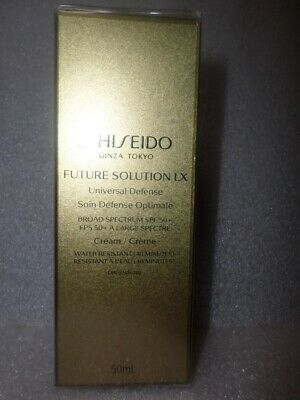 Shiseido Future Solution Lx Universal Defense Broad Spectrum Spf50+ 50 Ml Cream
