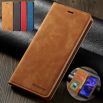 For Huawei P20 Pro Lite Nova 3e Case Luxury Magnetic Leather Wallet Flip Cover