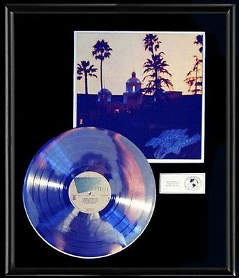 The Eagles Hotel California Rare Gold Record Platinum  Disc Lp Album Non Riaa