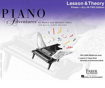 Piano Adventures All In Two Primer Lesson Theory (Softcover Book)