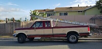 1990 Ford F-250  Ford F-250 XLT - Runs Great, New Tires