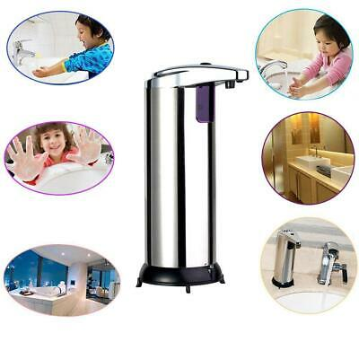 Automatic Stainless Steel IR Sensor Touchless Soap Dispenser / Stand Handsfree.