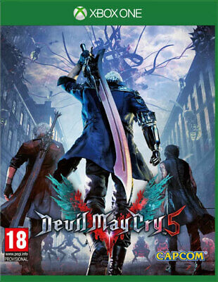 Devil May Cry 5 con Lenticular Manga (Xbox One) Nuevo y Sellado en Stock