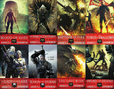 The WITCHER Series By Andrzej Sapkowski 8 MP3 Audiobooks Unabridged