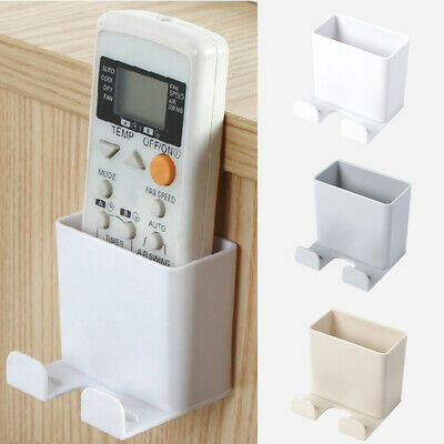 Portable Wall Mounted Mobile Phone Storage Box Remote Control Container Holders