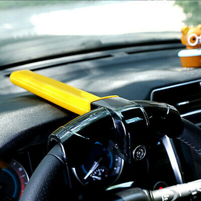 Anti-Theft Security Rotary Steering Wheel Lock Top Mount For Auto Car  XCK QWU