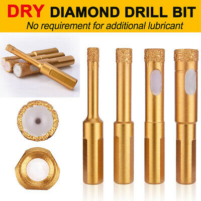 ADDAX DRY DIAMOND DRILL BITS FOR PORCELAIN GRANITE TILE GLASS CERAMICS MARBLE
