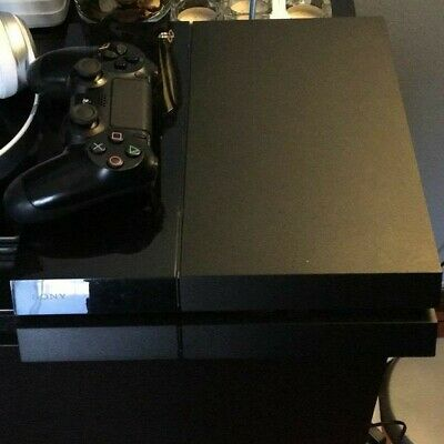 Sony PS4 Play Station Console 500GB F Chassis Black Nero