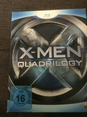 Blu Ray, X-Men- Quadrilogy