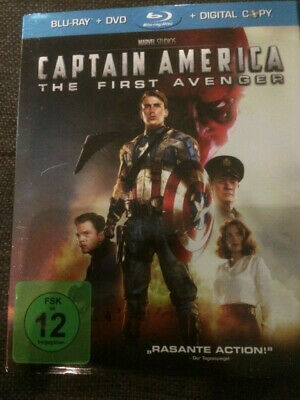 Blu Ray, Captain America-The First Avenger, Im Pappschuber