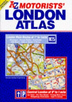 A-Z Motorists' London Atlas (Road Atlas) by Geographers' A-Z Map Compa Paperback