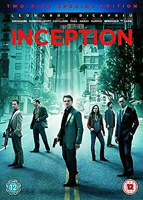 Inception (Two-Disc Special Edition) [DVD] [2010], , Used; Very Good DVD