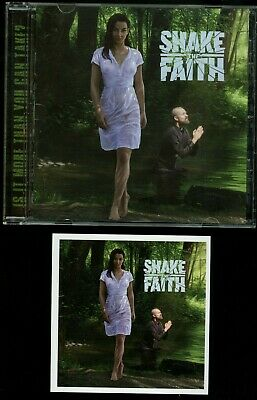 Shake The Faith self titled CD new s/t same private indie glam metal melodic