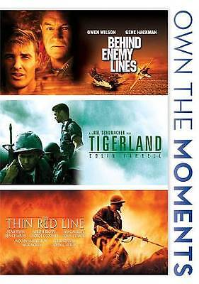 BEHIND ENEMY LINES/TIGERLAND/THIN RED LINE (DVD, 2012, 3-Disc Set) NEW
