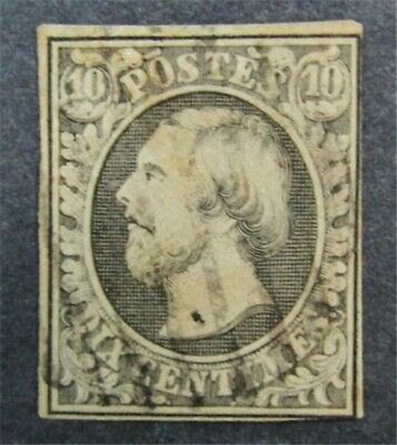 nystamps Luxembourg Stamp # 1 Used $73