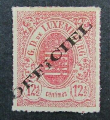 nystamps Luxembourg Stamp # O4 Mint OG H $475 Signed
