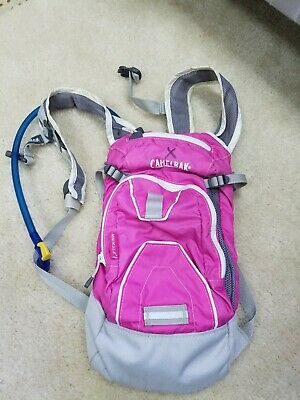 2eb9dc20d21 Camelbak Kids Girls Mini Mule Hydration Pack Purple & Pink Backpack with  Bladder