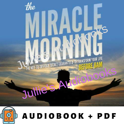 AudioBook - The Miracle Morning - Transform Your Life Before 8AM
