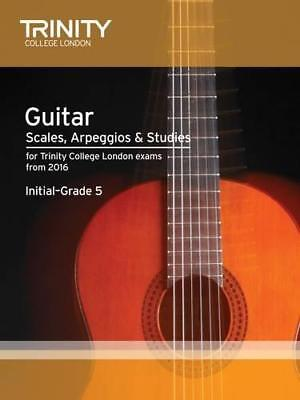 Guitar & Plectrum Guitar Scales & Exercises Initial-Grade 5 from 2016 by Trinity