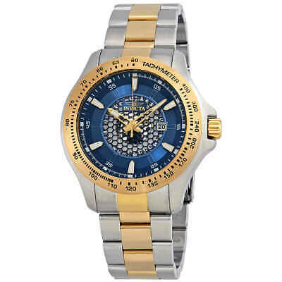 Invicta Speedway Blue Dial Two-tone Men's Watch 25338