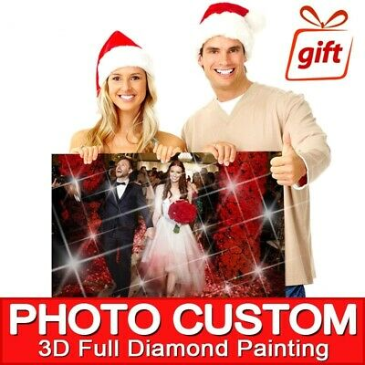 5D DIY Private Photo Custom Rhinestone Crystal Painting Individual Order Puzzle