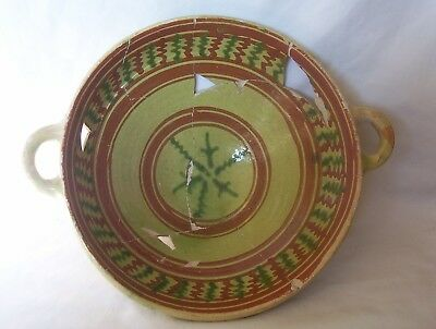 Wesser Ware pottery Bowl c. 1580 - 1620