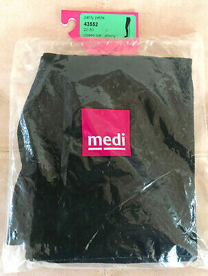 Mediven Sheer And Soft Compression Stockings Ebony 20-30 Closed Toe Petite