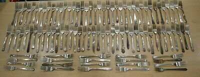 Lot of 100 Silver Plate Dinner Fork Craft BUY IT NOW FREE SHIPPING 19