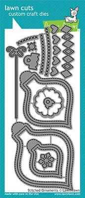 Lawn Fawn, lawn cuts/ Stanzschablone, stitched ornaments
