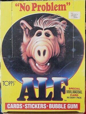 1987 - Topps - Alf - Series 1 - Complete Wax Box - 48-Count Unopened Packs