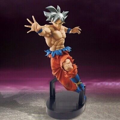 22Cm New Dragon Ball Super Ultra Instinct Goku Pvc Action Figure Collectible