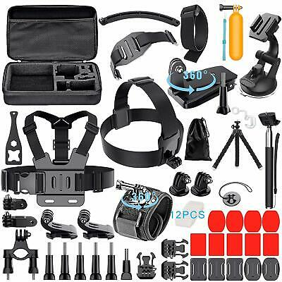 GoPro Accessories Kit For GoPro Hero 7 6 5 Black 4 3 Session Action Camera