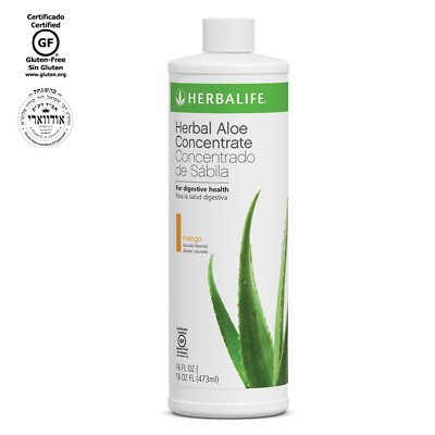NEW HERBALIFE HERBAL ALOE CONCENTRATE Mango Or Cranberry
