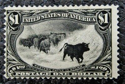 nystamps US Stamp # 292 Mint OG H $1050