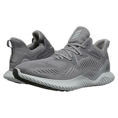 Nib Men's Adidas Cg4765 Alphabounce Beyond M Running Grey Sneakers Shoes $140