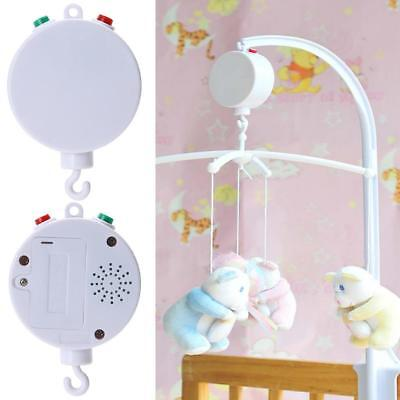 AU 35 Songs Rotary Child Mobile Cot Bed Toy Powered Music Box Newborn Bell Toys