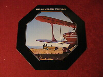1977 MG  Sports Car Old Original Showroom Sales Brochure Booklet Catalog