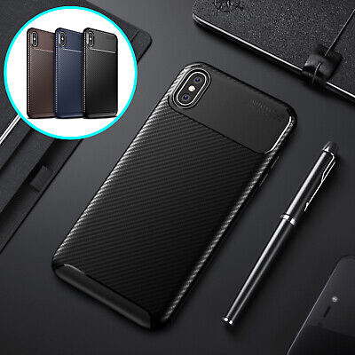 For iPhone 6s 7 8 Plus Case Hybrid Rubber TPU Shockproof Ultra Slim Back Cover