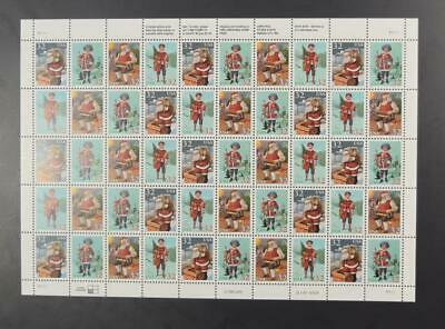 Us Scott 3108 - 3111 Pane Of 50 Christmas Family Scenes Stamps 32 Cent Face Mnh