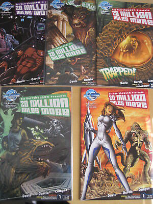 """Ray Harryhausen Presents """"20 Million Miles More"""" : Complete 4 Issue 2007 Series+"""