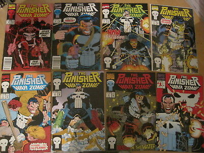 PUNISHER WAR ZONE Vol 1 : COMPLETE RUN of ISSUES 1 - 19 by DIXON, ROMITA Jr.1992