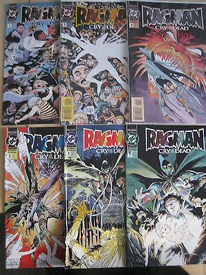 """RAGMAN : """"CRY of the DEAD"""" : COMPLETE 6 ISSUE SERIES. 1,2,3,4,5,6. DC.1993"""