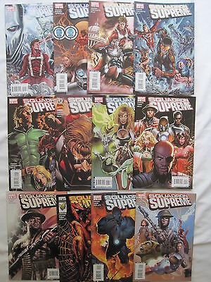 SQUADRON SUPREME : COMPLETE CLASSIC 12 ISSUE SERIES +SAGA by CHAYKIN.MARVEL.2008