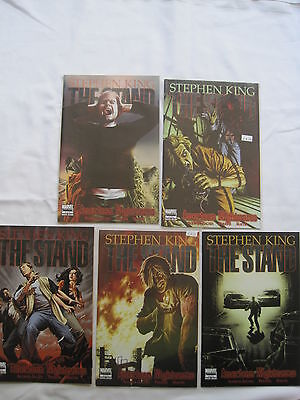 """STEPHEN KING : The STAND : """"AMERICAN NIGHTMARE"""" complete 5 issue series. MARVEL"""